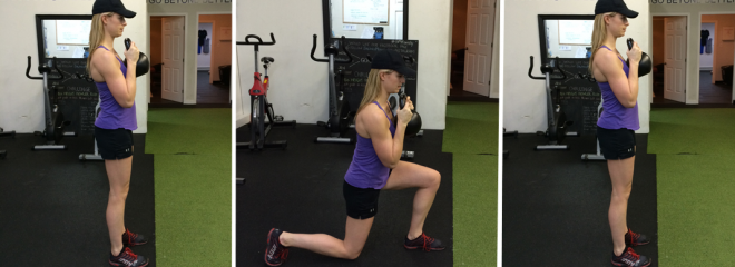 Front Loaded Lunge