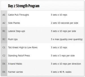 Strength blueprint beginner strength day 2 balance in motion strength blueprint beginner strength day 2 malvernweather Image collections