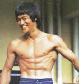 Bruce Lee obliques