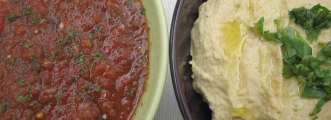 hummus-and-salsa