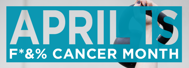 fuck cancer web banner